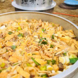 狭山市堀兼小学校で芋煮会を開催しました。